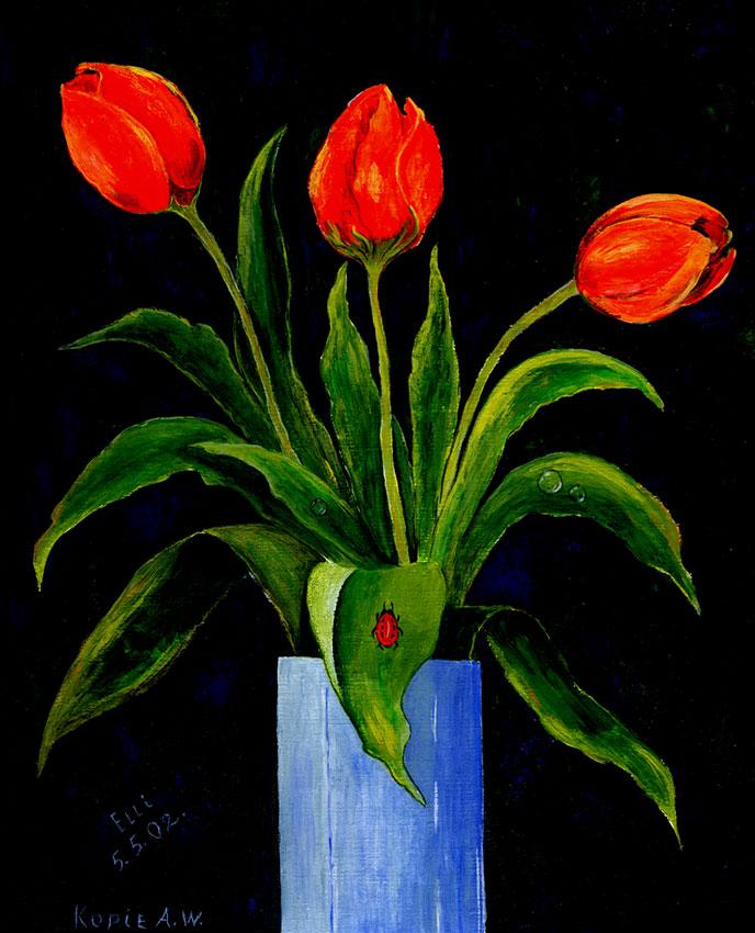 Drei Tulpen 3
