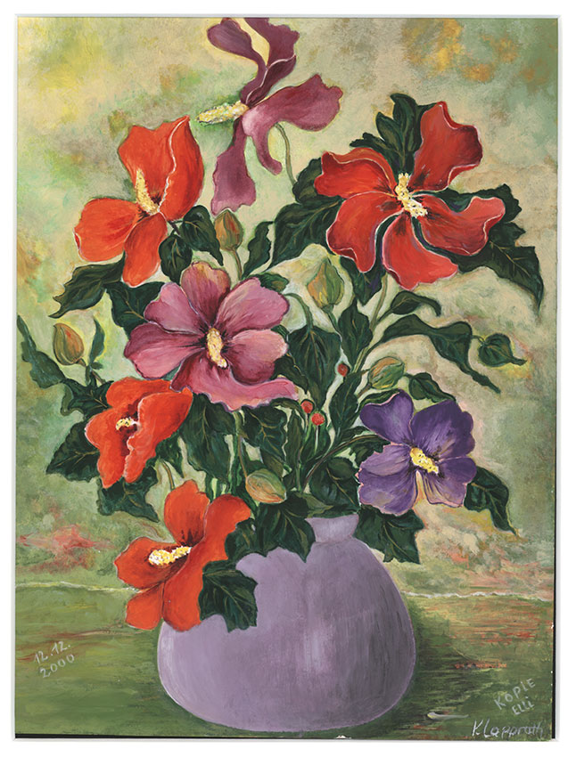 Hibiskus | Größe: 24 x 32 cm